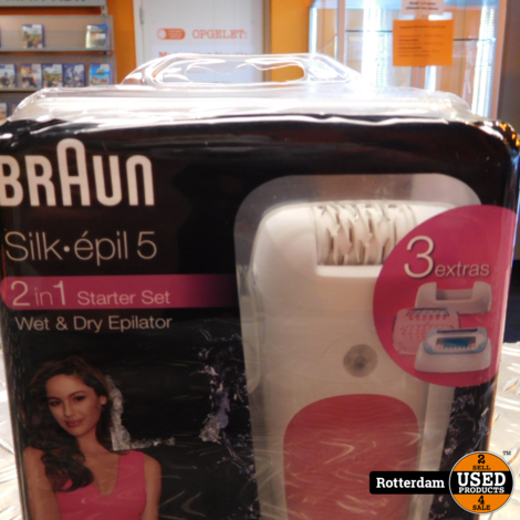 Braun Silk 2in1 starter set