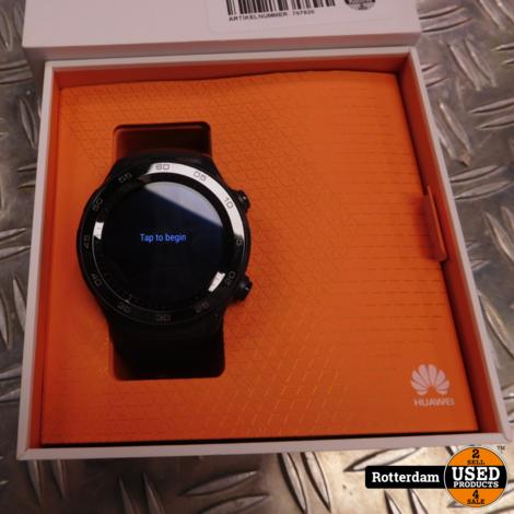 Huawei Watch 2 Sport - Smartwatch - Carbon zwart