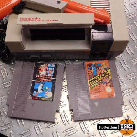 Nintendo Nes | Incl. Donkey Kong & Super Mario Bros