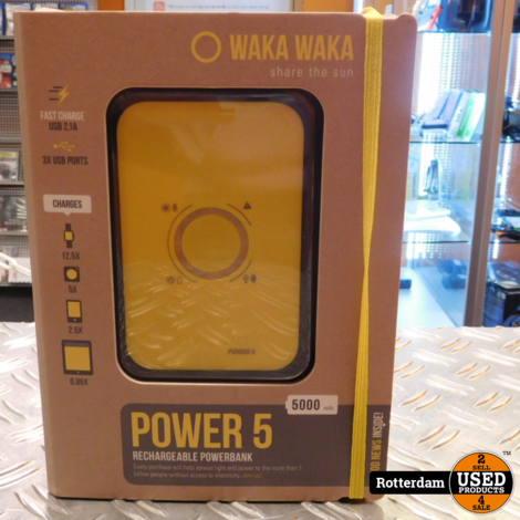 WAKAWAKA Power 5 (5000mAH)