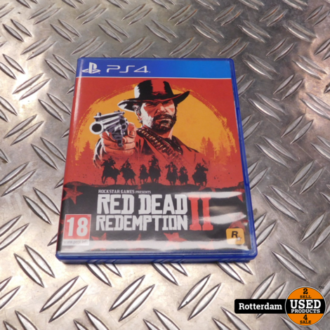 PS4 : Red dead redemption 2