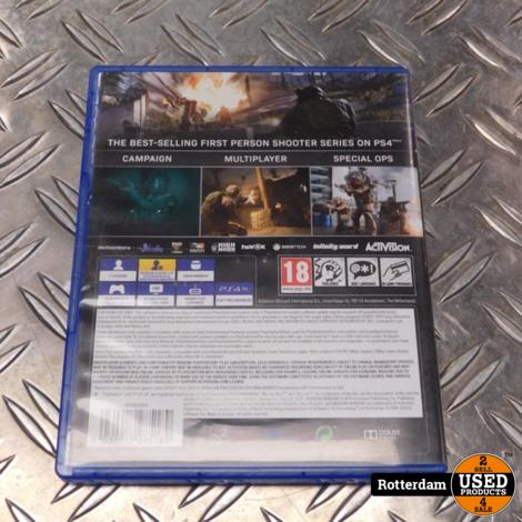 PS4 : Call of Duty Modern Warfare