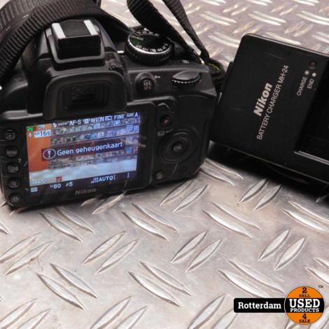 Nikon D3100 + 18-55mm Lens