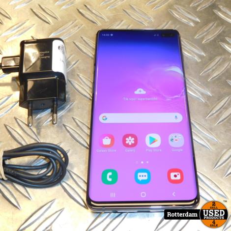 Samsung galaxy s10 Plus Zwart   Zo goed als nieuw