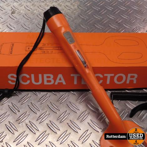 Quest Scuba Tector onderwater metaaldetector voor duiken