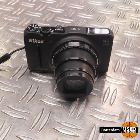 Nikon Coolpix S9700 Zwart