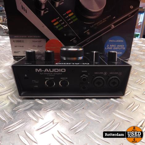 M-audio M-Track 2x2M C-series