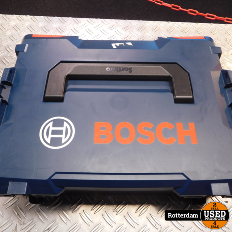 Bosch GWS 18-125 V-LI haakse slijpmachine incl 3x accu