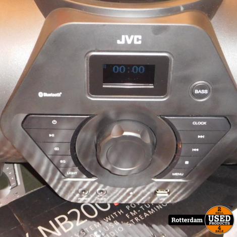JVC Boomblaster RV-NB200BT-BP incl. Accu pack (BN-R5000)