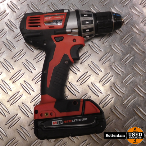 "milwaukee  M18TM Cordless Lithium-Ion ½"" Compact Drill/Driver"