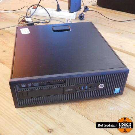 HP ProDesk 600 | i3-4160 | 4GB werkgeheugen | 500GB Opslag
