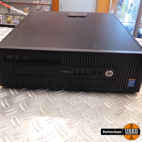 HP Prodesk 600 G1 | i5-4590 | 4GB Werkgeheugen | 240GB (SSD) Opslag