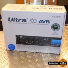 Motu UltraLite AVB USB geluidskaart