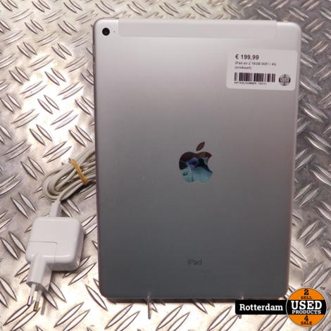 iPad air 2 16GB WiFi / 4G (simkaart)
