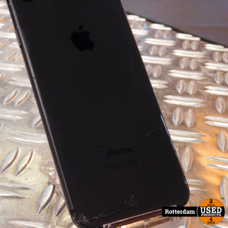 iPhone 8 Zwart (Barst achterkant)