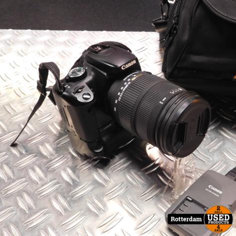 Canon 400d - 18-200 mm 1:3.5-6.3 lens