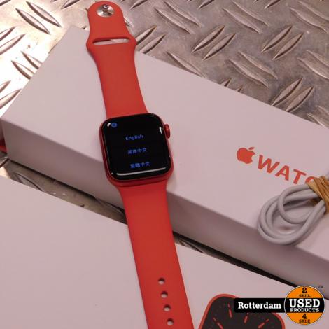 Apple Watch 6 GPS Rood - 40mm