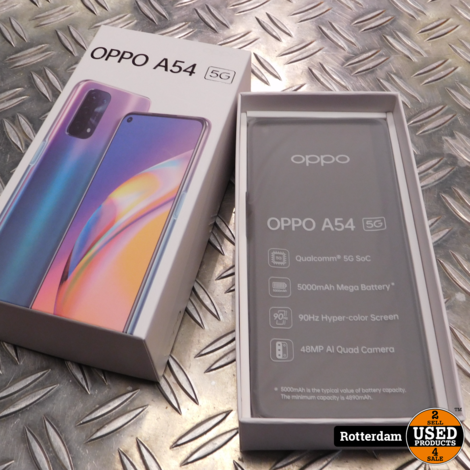 Oppo A54 64GB (5G versie) *nieuw*