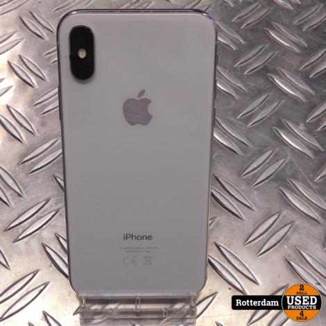 iPhone X 64GB   zilver