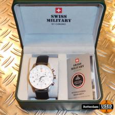 Swiss Military By Chrono SM34012.06, Quartz, 41mm. *NIEUW*