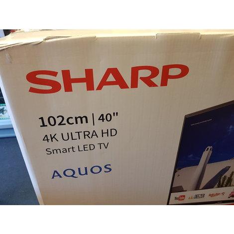 Sharp lc-40UI7452 4K Ultra HD Smart tv Wi-Fi // Nieuw