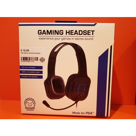 PS4 Stereo Gaming headset