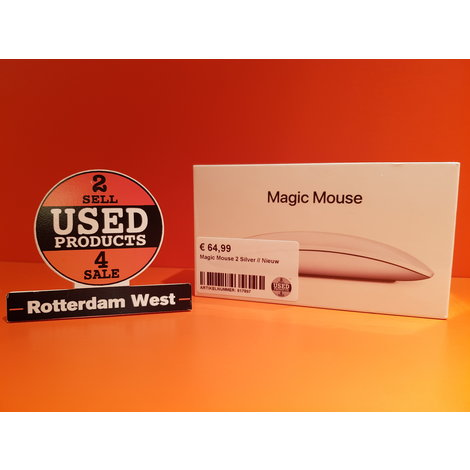 Magic Mouse 2 Silver // Nieuw
