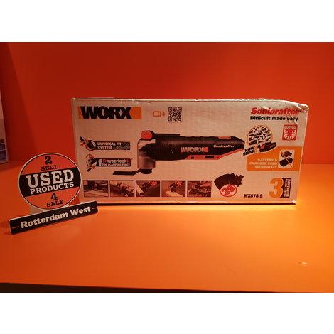 WORX Accu multitool Sonicrafter WX678.9 20V (zonder accu) // Nieuw