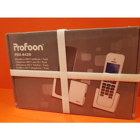 Profoon PDX-8420 - Duo DECT telefoon // Nieuw