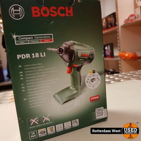 Bosch PDR 18 LI (zonder accu) // Nieuw