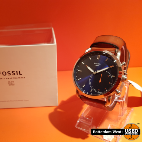Fossil Q Commuter Hybrid Zilver  FTW1151 // NEW