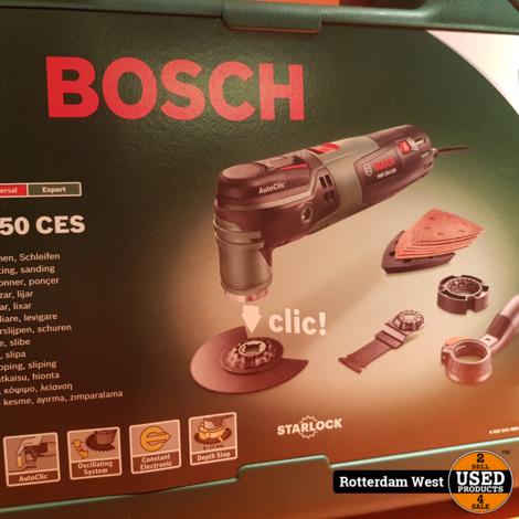 Bosch PMF 250 CES Multitool - Oscillerend // Nieuw
