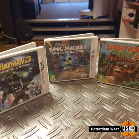 Nintendo 3DS games // 3 Stuks
