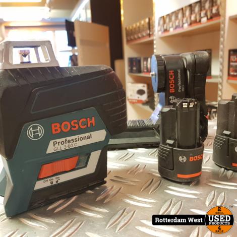 Bosch Professional GLL 3-80 C + Extra Accu