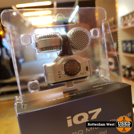 Zoom iQ7 MS Stereo Microphone voor iOS // Nieuw