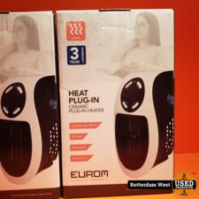 EUROM Keramische ventilatorkachel Heat Plug-in 500 Watt // Nieuw