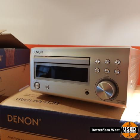 Denon RCD-M41DAB + SC-M41 Hifi Set // Nieuw