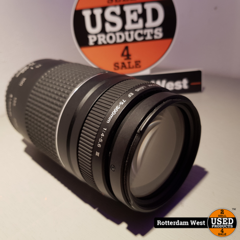 Canon 75-300mm 4-5.6 III Lens