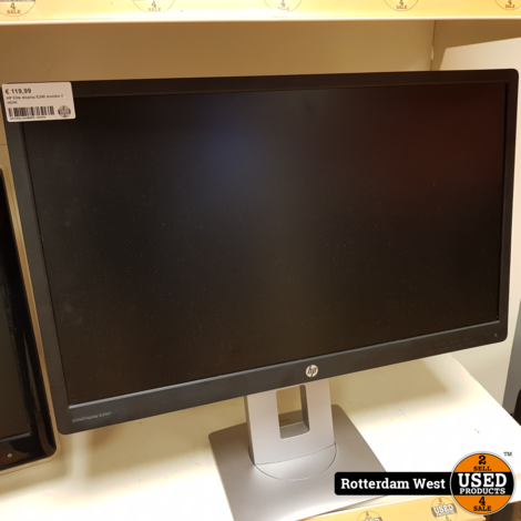 HP Elite display E240 monitor // HDMI