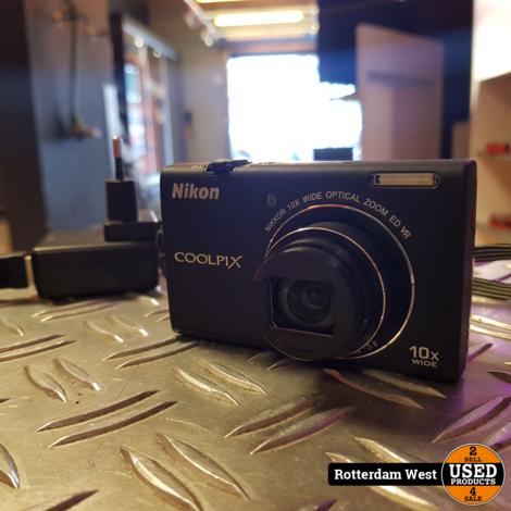Nikon S6200 16MP Compactcamera