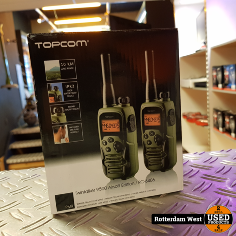 Topcom Twintalker 9500 Airsoft Edition // Nieuw