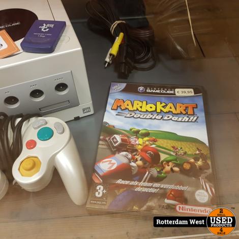 Nintendo Gamecube met mariokart