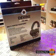 Devine PRO 4000 over-ear koptelefoon // Nieuw
