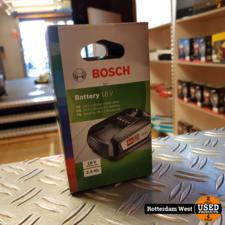 Bosch pba 18v 2.5ah Accu // Nieuw