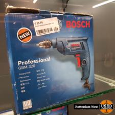 Bosch Blue GBM 320 Boormachine | 320 W // Nieuw