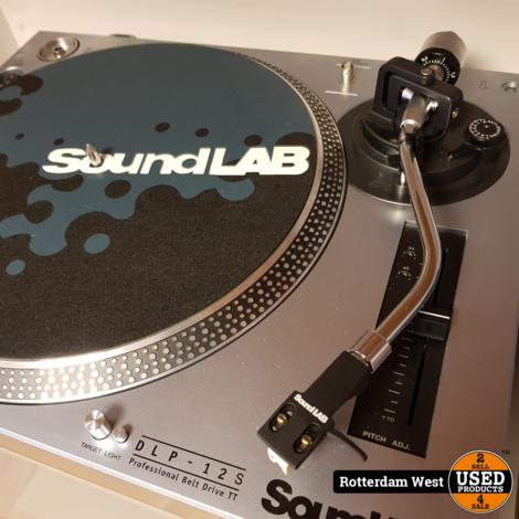 Soundlab DLP-12S met Stanton 500 element // Topstaat