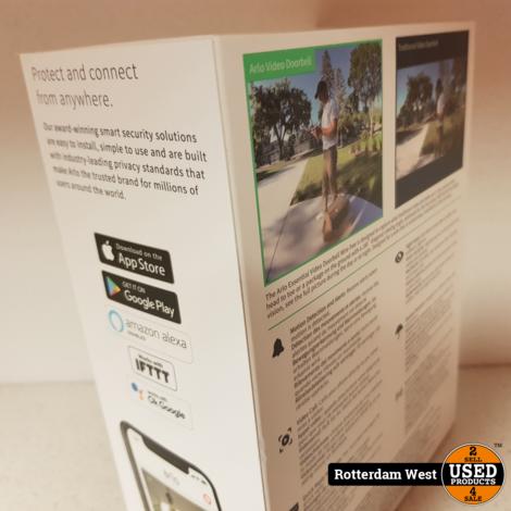 Arlo Wire Free Wifi Video Doorbell // NEW