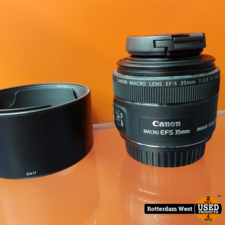 Canon EF-S 35mm f/2.8 Macro IS STM // Nieuwstaat