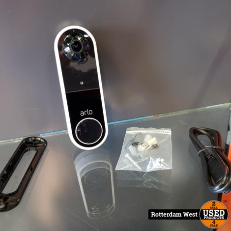 Arlo Wire Free Video Doorbel // Topstaat