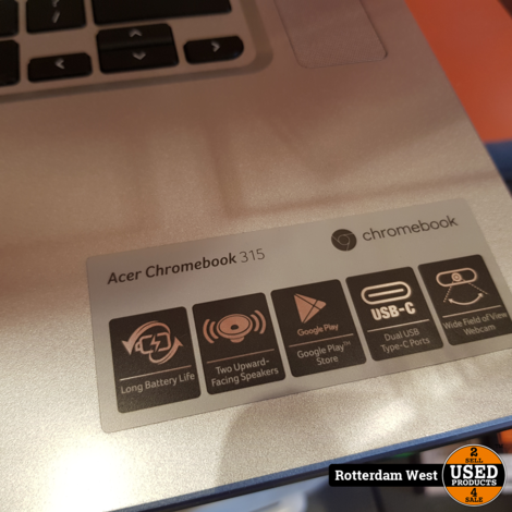 Acer cb315-2h-430h Chromebook / 32GB / 4GB / 15.6 Inch